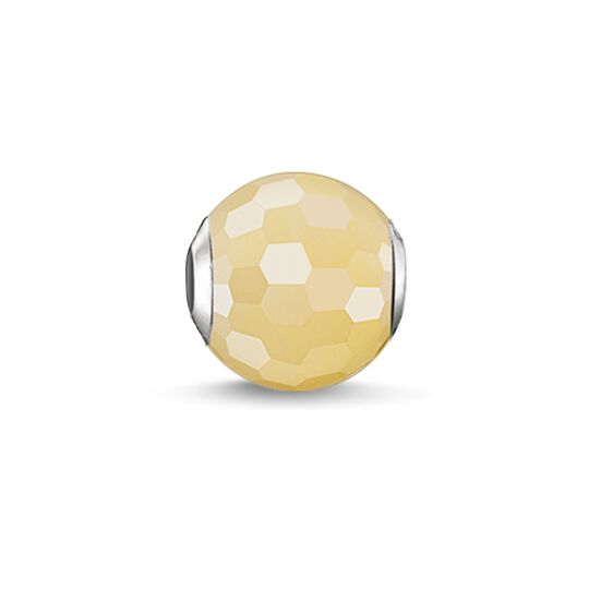 Bead yellow aventurine from the Karma Beads collection in the THOMAS SABO online store