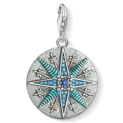"""Charm pendant """"Vintage Star"""" from the  collection in the THOMAS SABO online store"""