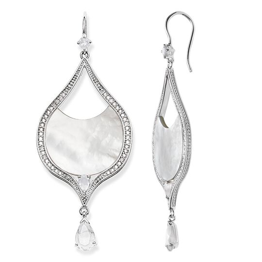 """earrings """"white lotus"""" from the Glam & Soul collection in the THOMAS SABO online store"""