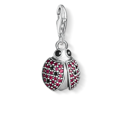 Charm pendant ladybird from the Charm Club Collection collection in the THOMAS SABO online store