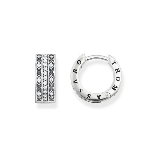 hoop earrings asian ornaments from the  collection in the THOMAS SABO online store