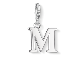 Charm pendant letter M from the Charm Club Collection collection in the THOMAS SABO online store