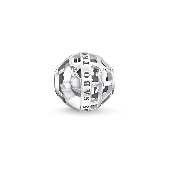 "Bead ""globe"" from the Karma Beads collection in the THOMAS SABO online store"