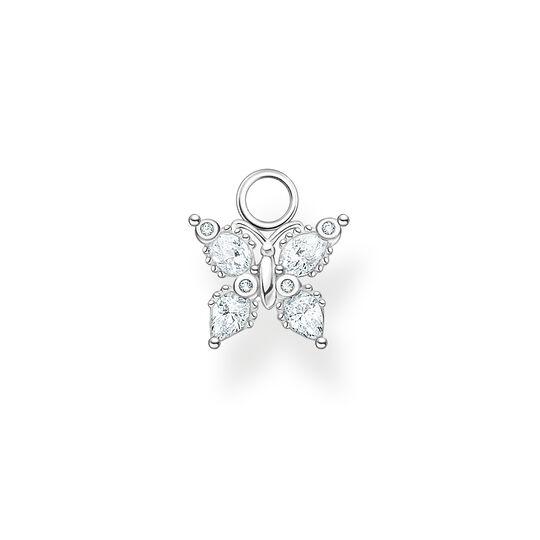 Pendentif pour boucle d'oreille unique papillon pierres blanches de la collection Charming Collection dans la boutique en ligne de THOMAS SABO
