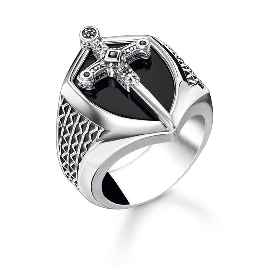 Ring sword silver from the Rebel at heart collection in the THOMAS SABO online store