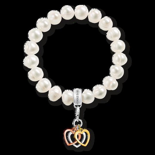 bracelet Charm cœurs de la collection Charm Club dans la boutique en ligne de THOMAS SABO