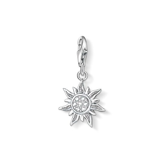 Charm pendant sun from the Charm Club collection in the THOMAS SABO online store