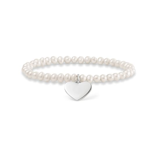 pearl bracelet heart from the  collection in the THOMAS SABO online store