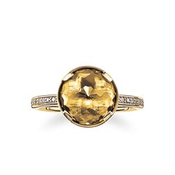 "solitaire ring ""solar plexus chakra"" from the Chakras collection in the THOMAS SABO online store"