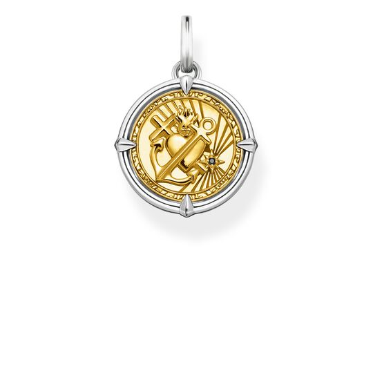 pendant faith, love, hope from the Rebel at heart collection in the THOMAS SABO online store