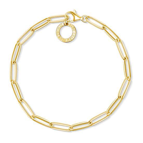 TS Gold Charm Bracelet