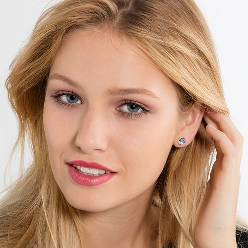 """ear studs """"throat chakra"""" from the Chakras collection in the THOMAS SABO online store"""