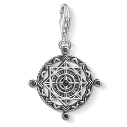 Charm pendant disc Vintage compass from the  collection in the THOMAS SABO online store