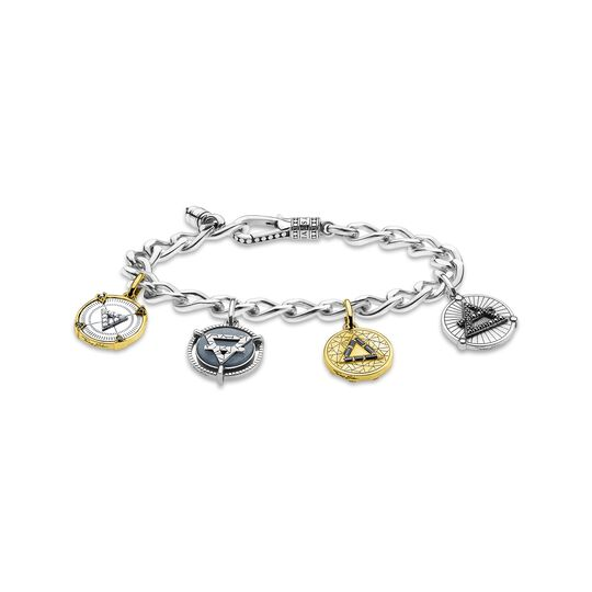 Bracelet elements of nature gold-silver from the  collection in the THOMAS SABO online store