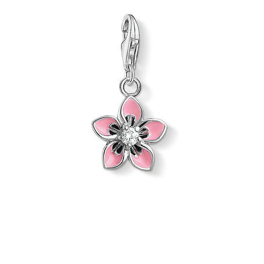 Charm-Anhänger Rosa Blume aus der  Kollektion im Online Shop von THOMAS SABO