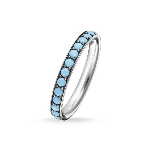"ring ""turquoise Stones"" from the Glam & Soul collection in the THOMAS SABO online store"