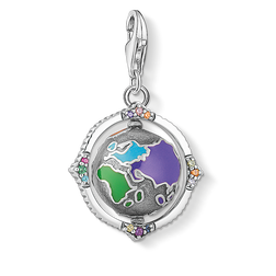 "Charm pendant ""Vintage globe colorful"" from the  collection in the THOMAS SABO online store"