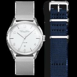 SET CODE TS weiße Uhr & dunkelblaues Armband aus der  Kollektion im Online Shop von THOMAS SABO