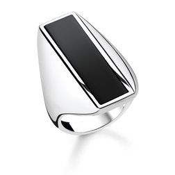 "ring ""onyx"" from the Glam & Soul collection in the THOMAS SABO online store"