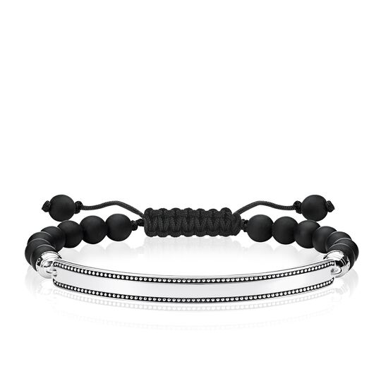"bracelet ""noir"" de la collection Love Bridge dans la boutique en ligne de THOMAS SABO"