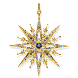 "pendant ""Royalty Star gold"" from the Glam & Soul collection in the THOMAS SABO online store"