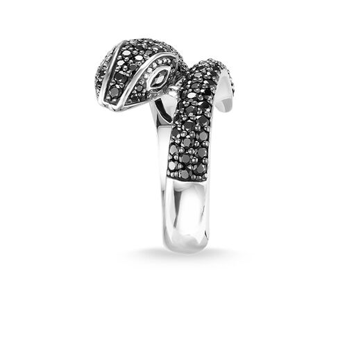 "ring ""snake pavé"" from the Glam & Soul collection in the THOMAS SABO online store"