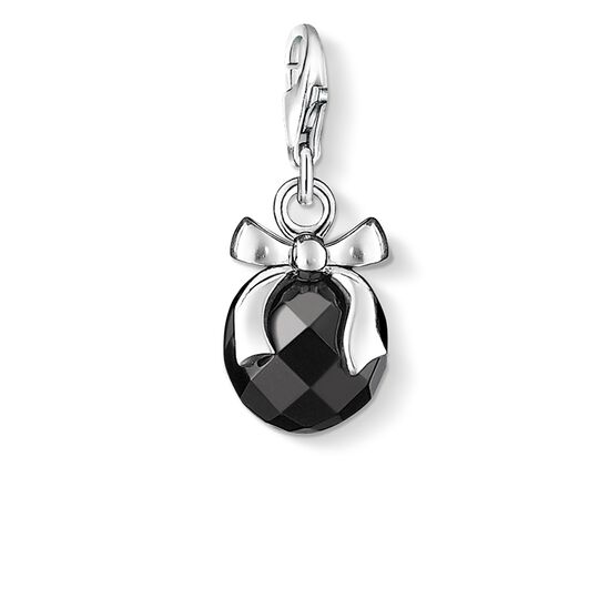 Charm pendant stone with bow from the  collection in the THOMAS SABO online store