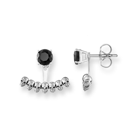 ear studs Ear Jackets skull from the  collection in the THOMAS SABO online store