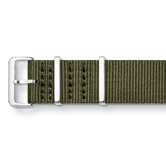 Watch strap CODE TS Nato khaki from the  collection in the THOMAS SABO online store