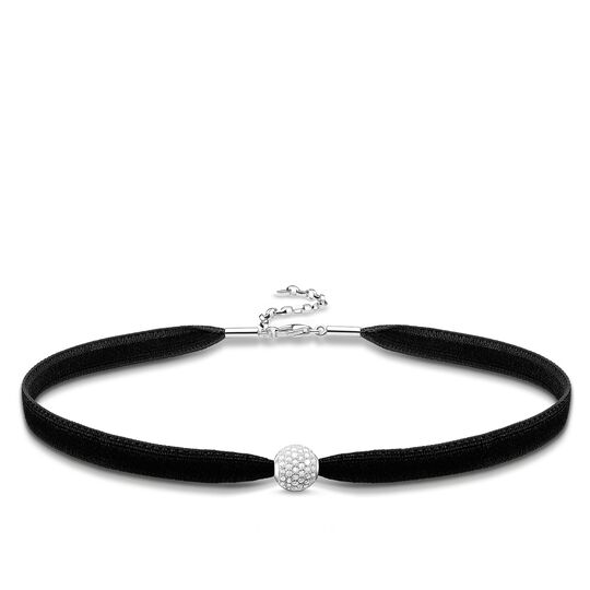 Choker white pavé from the Glam & Soul collection in the THOMAS SABO online store