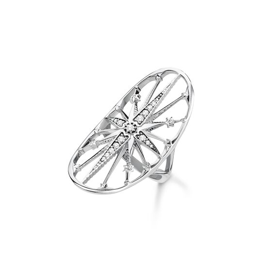ring Royalty star silver from the Glam & Soul collection in the THOMAS SABO online store