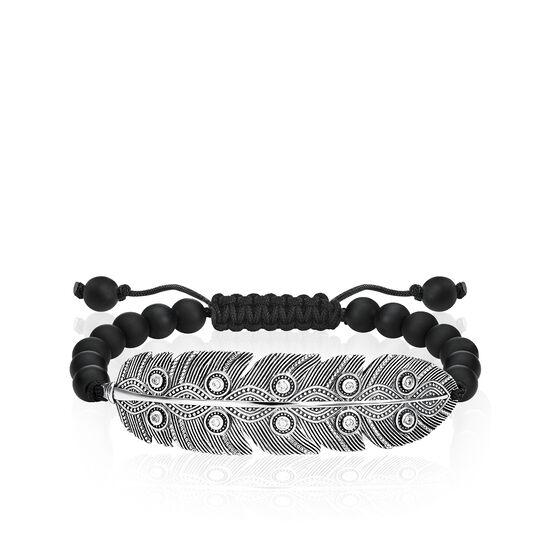 bracelet Plume ethnique de la collection Love Bridge dans la boutique en ligne de THOMAS SABO