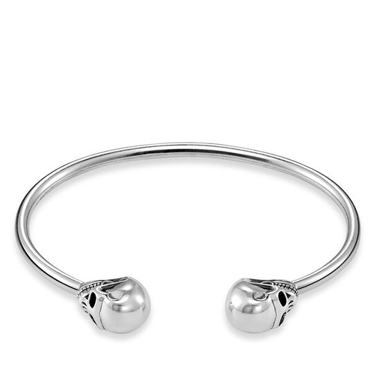 "bangle ""skull"" from the Rebel at heart collection in the THOMAS SABO online store"
