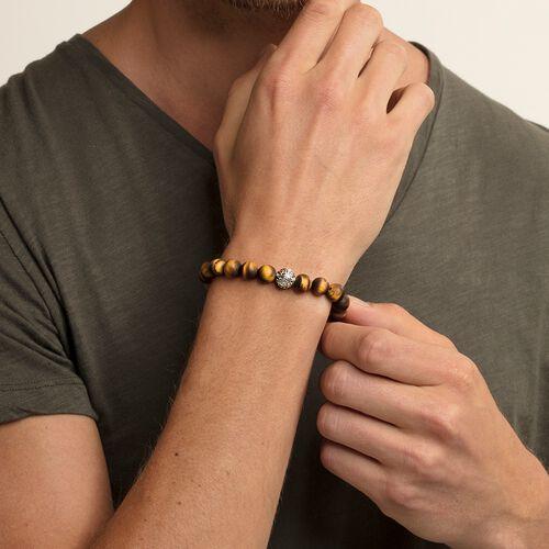"""bracelet """"Ethnique oeil-de-tigre marron"""" de la collection Glam & Soul dans la boutique en ligne de THOMAS SABO"""