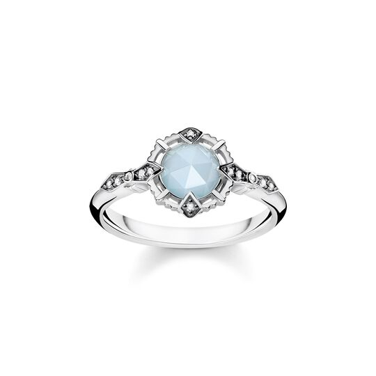 ring vintage light blue from the  collection in the THOMAS SABO online store