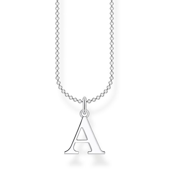 Necklace letter A from the Charming Collection collection in the THOMAS SABO online store