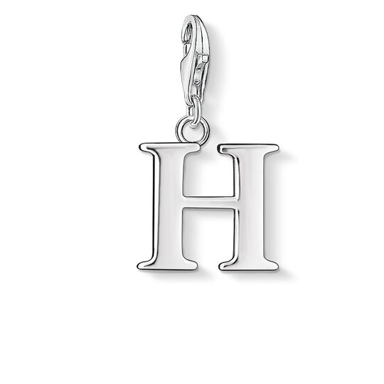 Charm pendant letter H from the  collection in the THOMAS SABO online store