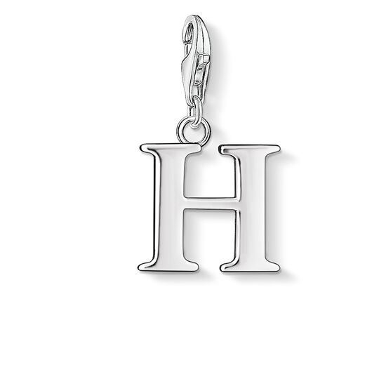 "Charm pendant ""letter H"" from the  collection in the THOMAS SABO online store"