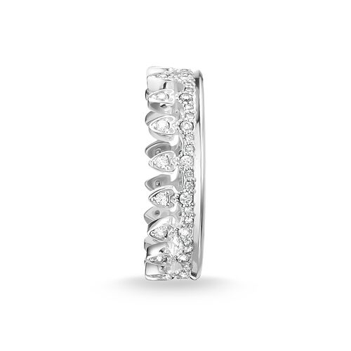 """ring """"crown"""" from the Glam & Soul collection in the THOMAS SABO online store"""