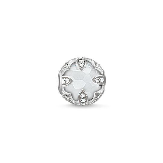 Bead white lotus from the Karma Beads collection in the THOMAS SABO online store