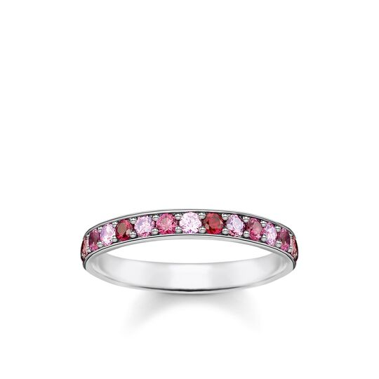 Ring pink stones from the Glam & Soul collection in the THOMAS SABO online store