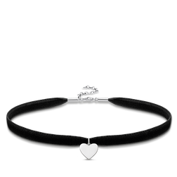 "Choker ""heart"" from the Glam & Soul collection in the THOMAS SABO online store"