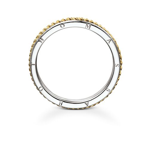 """band ring """"rope"""" from the Rebel at heart collection in the THOMAS SABO online store"""