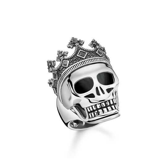 Ring skull crown from the  collection in the THOMAS SABO online store