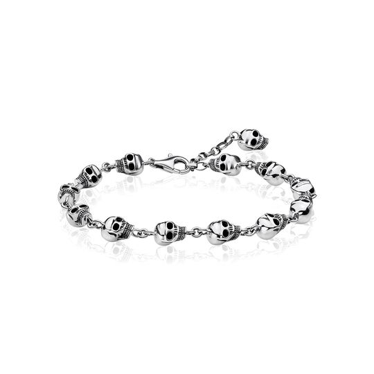 bracelet skulls from the  collection in the THOMAS SABO online store
