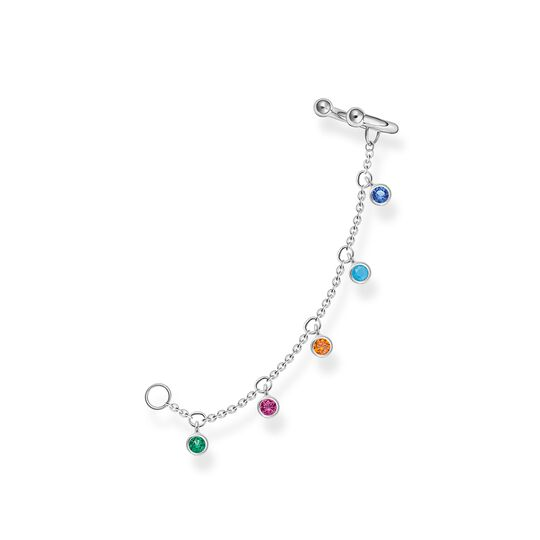 Ear cuff colourful stones, silver from the Charming Collection collection in the THOMAS SABO online store