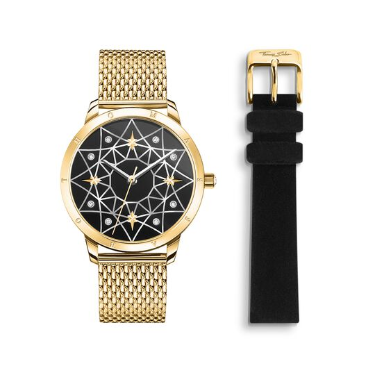 Women's watch Spirit Cosmos starry sky gold from the Glam & Soul collection in the THOMAS SABO online store
