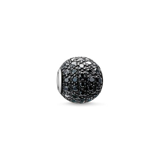 Bead black pavé from the Karma Beads collection in the THOMAS SABO online store