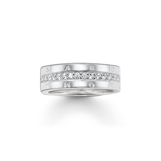 ring eternity classic white from the  collection in the THOMAS SABO online store