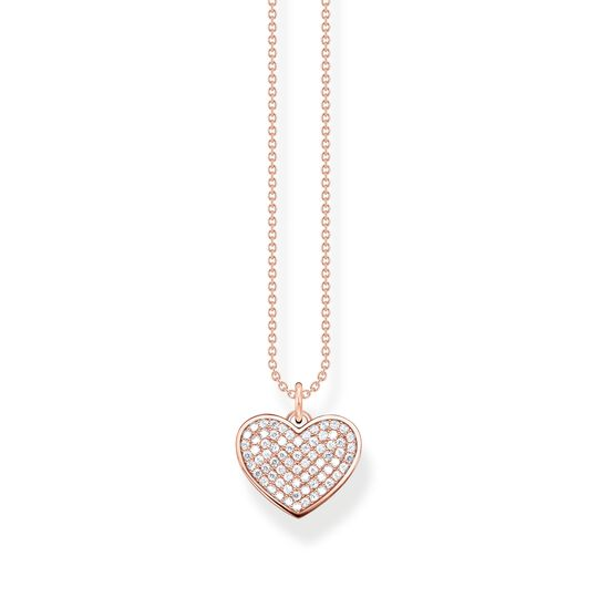 Necklace heart rose gold from the  collection in the THOMAS SABO online store